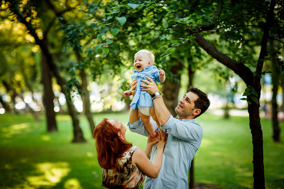 Family photography in the park | Moments of joy
