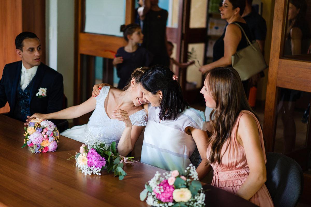 Wedding emotions  - Wedding in French Alps