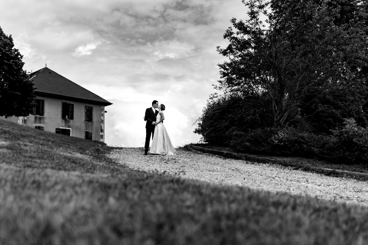 Up on the hill - Wedding in French Alps