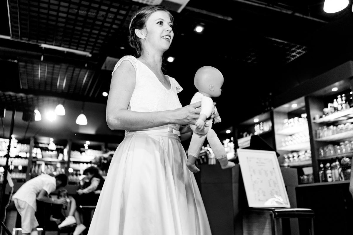 Bride and dool!
