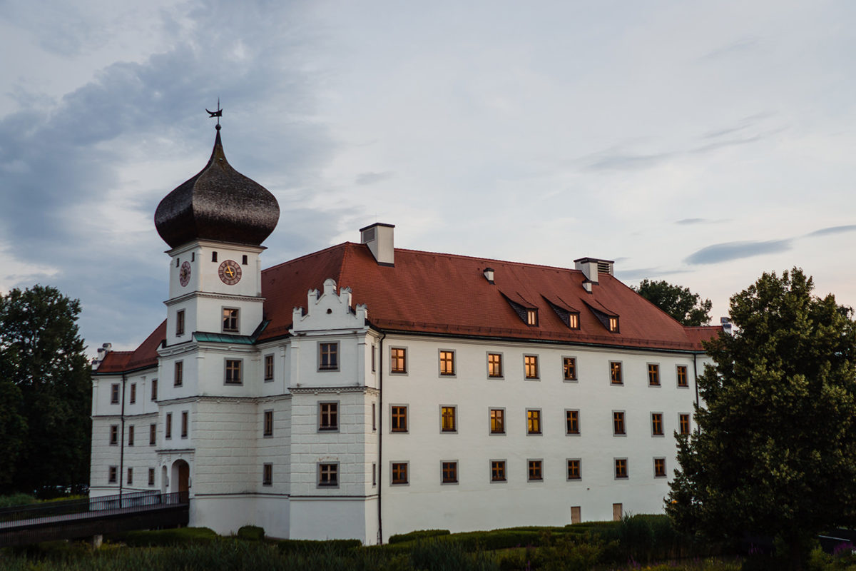 Wedding at a castle near Munich