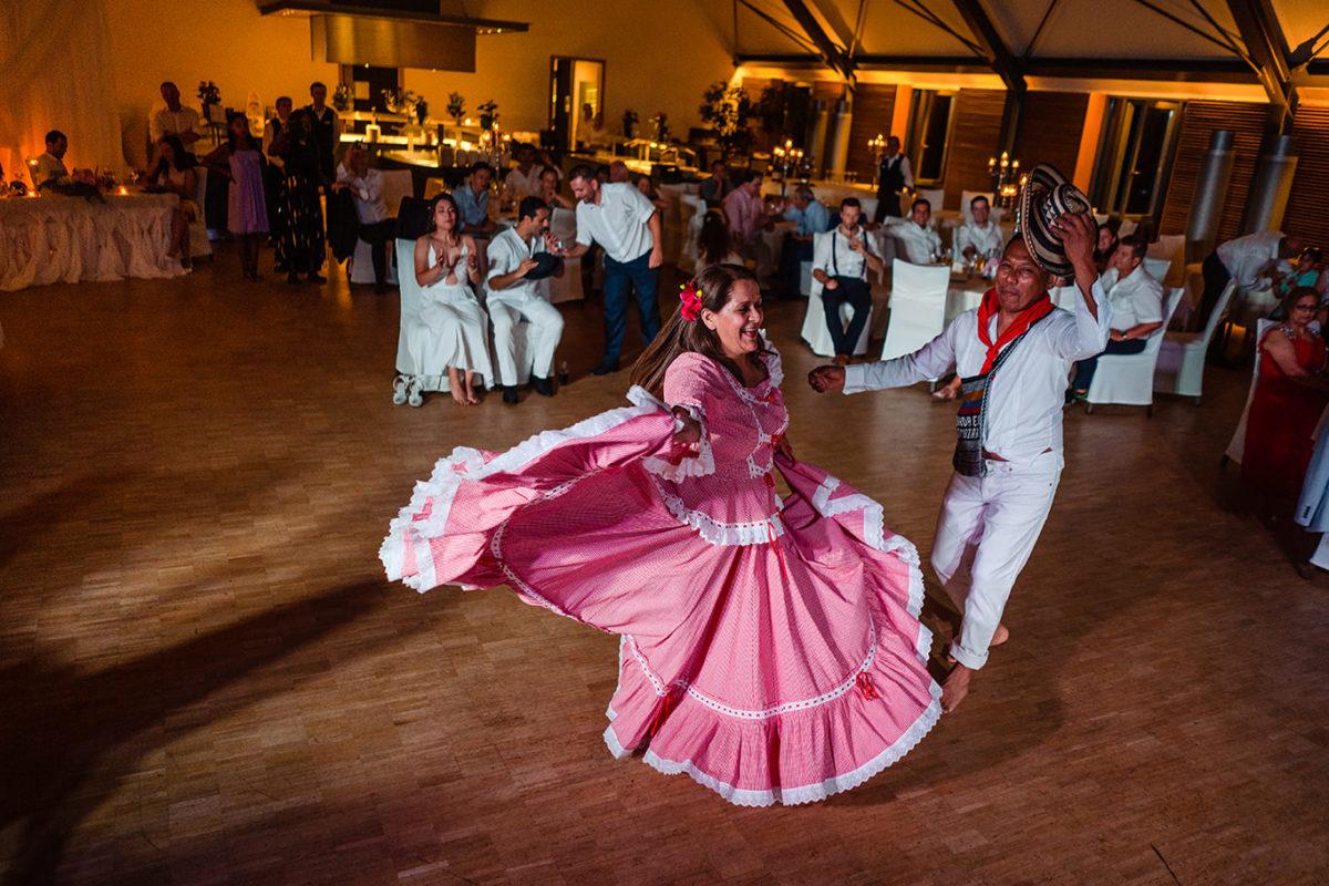 South american dance in Munich wedding  - Munich wedding photographer